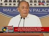 SONA: Kinatawan ng Pilipinas sa UN, ipinagtanggol si Pres. Duterte sa isyu ng extrajudicial killings