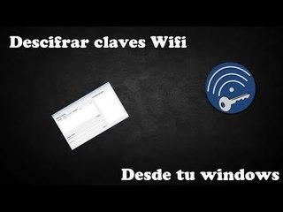 Descifrar claves Wifi  Desde windows!  |Router Keygen|