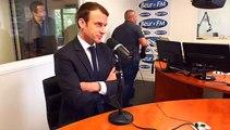 Emmanuel Macron à Beur FM