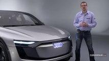 Audi E-Tron Sportback Concept : le futur électrique d'Audi sera lumineux