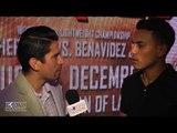 Jose Benavidez Jr. feels people doubting him but sparring w/ Pacquiao, Khan gives him advantage