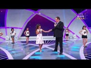 El video mas visto de youtube Aythana a princesinha do Brasil  em SBTcom Raul Gil