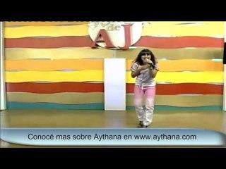 Aythana - la Princesita del pop  en el show de AJ Por Telefe de Rosario