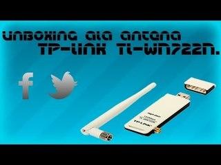 Unboxing ala antena Tp-link TL-WN722N.