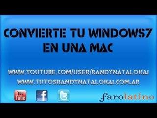 Apariencia de Mac! para Windows 7