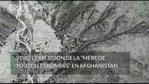 """L'explosion de la """"mère de toutes les bombes"""" filmée par l'armée américaine"""