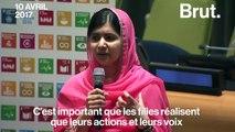 Malala Yousafzai nommée messagère de la paix à l'ONU