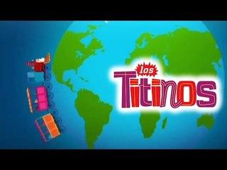 Los Titinos - El Trencito Tino (Cancion Animada)