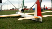 RC MODEL GLIDER 'STINGRAY' EDF WITH TURBINE SOUND _ Euroflugtag Rheidt 2016-x8