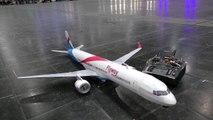 AMAZING RC BOEING 757-300 SUPER LIGHTWEIGHT MODEL AIRLINER FOR INDOOR FLIGHT PRESENTED _ 2017-9Vu
