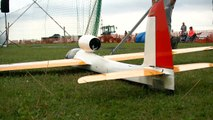 RC MODEL GLIDER 'STINGRAY' EDF WITH TURBINE SOUND _ Euroflugtag Rheidt 2016-x8KGd-Su