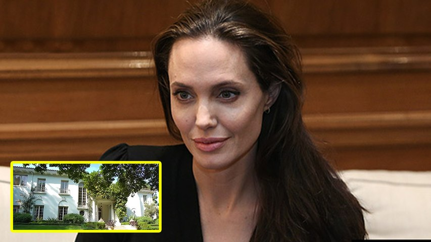 Angelina Jolie Buys $25 Million L.A. Mansion