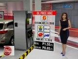 24 Oras: Oil price adjustment