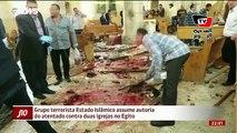 Grupo terrorista Estado Islâmico assume autoria do atentado contra duas igrejas no Egito