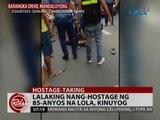 24 Oras: Lalaking nang-hostage ng 85-anyos na lola, kinuyog