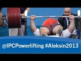 Powerlifting - men's -65kg, -72kg - 2013 IPC Powerlifting European Open Championships Aleksin