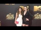 Laura Marano & Vanessa Marano #MTVMovieAwards Red Carpet