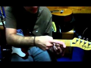 Message in a Bottle guitar lesson GUS QUIN