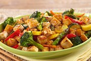 Tasty and Healthy Stir fry Veggies with Tofu dinner recipe for kids