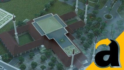 Tabuh Bedug, Presiden Jokowi Resmikan Masjid Agung Hasyim Ashari