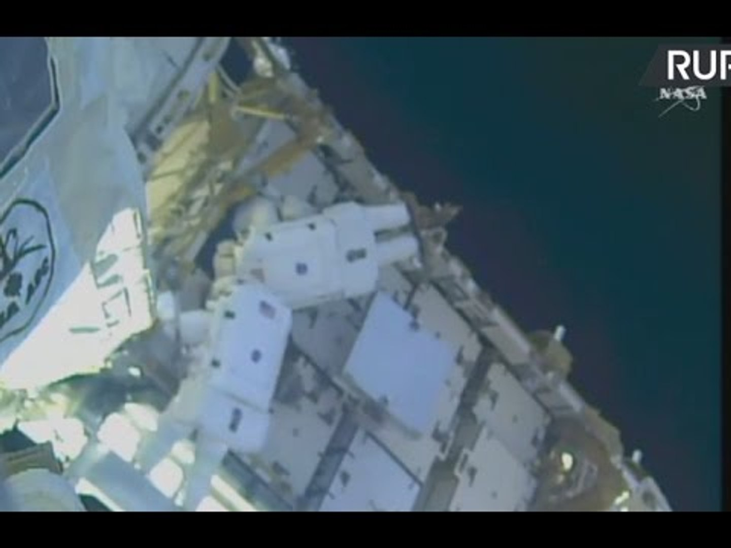 LIVE from outer space: First spacewalk of the year
