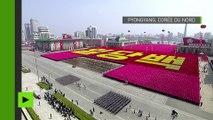 Pyongyang dévoile ses missiles balistiques mer-sol lors d'une parade militaire