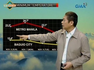 UH: Weather update as of 5:12 a.m. (Nov. 10, 2016)