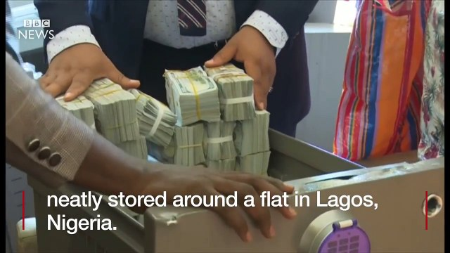 Nigeria- This is what $43m looks like in cash - BBC News