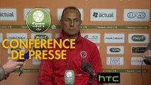 Conférence de presse Stade Lavallois - Stade de Reims (5-2) : Thierry GOUDET (LAVAL) - Michel DER ZAKARIAN (REIMS) - 2016/2017