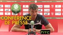 Conférence de presse Nîmes Olympique - US Orléans (2-0) : Bernard BLAQUART (NIMES) - Didier OLLE-NICOLLE (USO) - 2016/2017