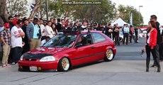 Amerika Da Modifiye Buluşması - Basık Araçlar - Honda S2000 - Honda Civic Eg - Ferrari -nissan 350z.