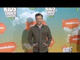 Jason Sudeikis Kids' Choice Awards Orange Carpet Arrivals