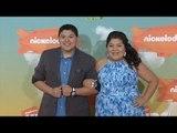 Rico & Raini Rodriguez Kids' Choice Awards Orange Carpet Arrivals