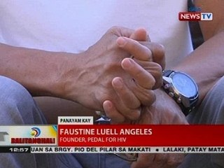 BT: Panayam kay Faustine Luell Angeles, founder, Pedal for HIV