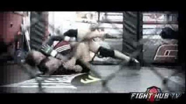 UFC 170 Rousey vs. McMann- Ronda Rousey works wrestling w/Olympian Martin Berberyan