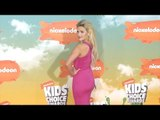Witney Carson Kids' Choice Awards Orange Carpet Arrivals