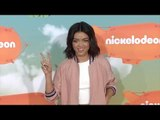 Sarah Hyland Kids' Choice Awards Orange Carpet Arrivals