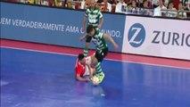 Adeptos do Benfica GOZAM COM MORTE do adepto do Sporting (Futsal)
