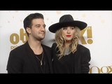 Mark Ballas & BC Jean OK! 2016 Pre-Oscar Party Red Carpet Arrivals