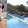"""A Shaolin monk runs 125 meters on the water """"record to beat"""". But Jesus had made less than 100 meters"""