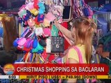 UB: Christmas shopping sa Baclaran