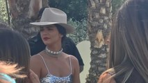 Kendall Jenner Makes a Cheeky Appearance at Coachella