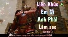Liên Khúc Em Ơi Anh Phải Làm Sao Remix - Dẫu Chỉ Là Ký Ức Remix  ►  Lồng Phim Iron Men - MV Lyrics HD ✓