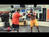 Georges St-Pierre vs. Johny Hendricks: Hendricks work out video