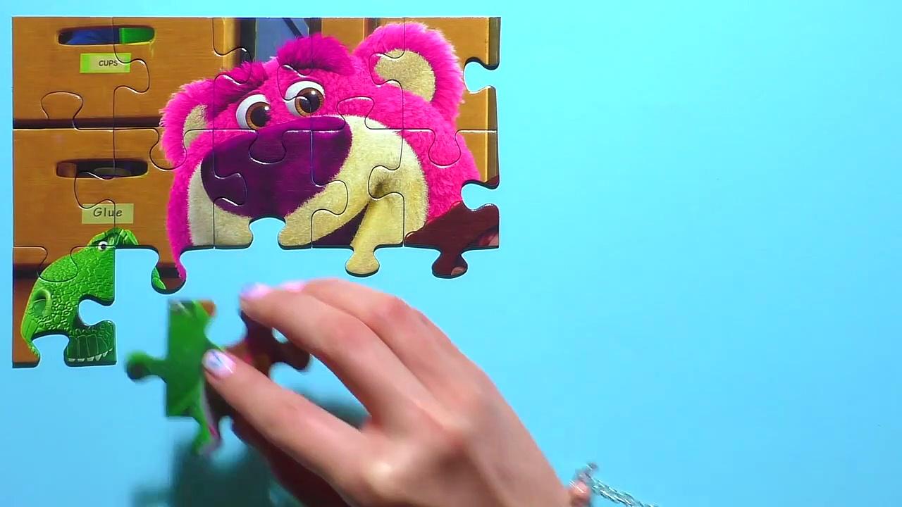 Learn Puzzle TOY STORY Potato Head, Woody, Buzz Lighdsdtye