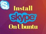 How To Install Skype In Ubuntu 16.04,17.04 Linux || Skype On Ubuntu,Mint,Kalininux