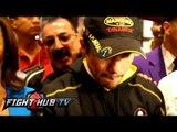 Timothy Bradley vs. Juan Manuel Marquez: Grand Arrival of Juan Manuel Marquez