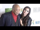 Quincy Jones & Xriss Jor 17th Annual Women's Image Awards Red Carpet in Los Angeles