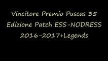 Vincitore Premio Puscas 35 Edizione Patch ESS-NODRESS 2016-2017+Legends