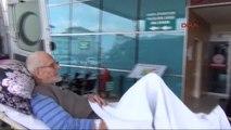 Bursa Inegöl'de Hastalar Ambulansla Oy Kullanmaya Götürüldü